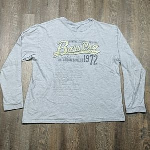 Bass Pro Shops Long Sleeve Shirt Est 1972